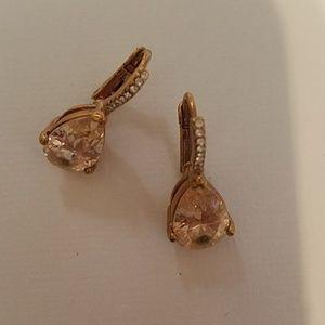 Gold Small Fancy Earrings